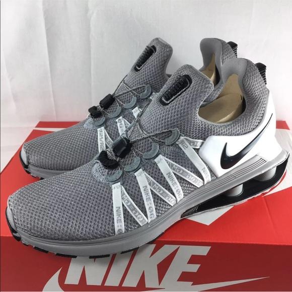 97797f61cbe Nike Shox Gravity Wolf Grey White